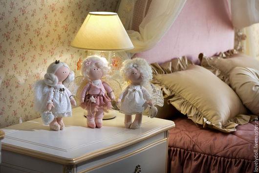Коллекционные куклы ручной работы. Ярмарка Мастеров - ручная работа. Купить Ангел А. Handmade. Кремовый, подарок на любой случай