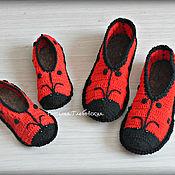 Обувь ручной работы handmade. Livemaster - original item Slippers-