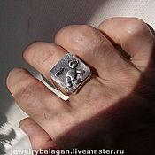 """Украшения handmade. Livemaster - original item Перстень """"Мишка"""". Handmade."""