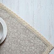 Для дома и интерьера ручной работы. Ярмарка Мастеров - ручная работа Комплект салфеток лен. Handmade.