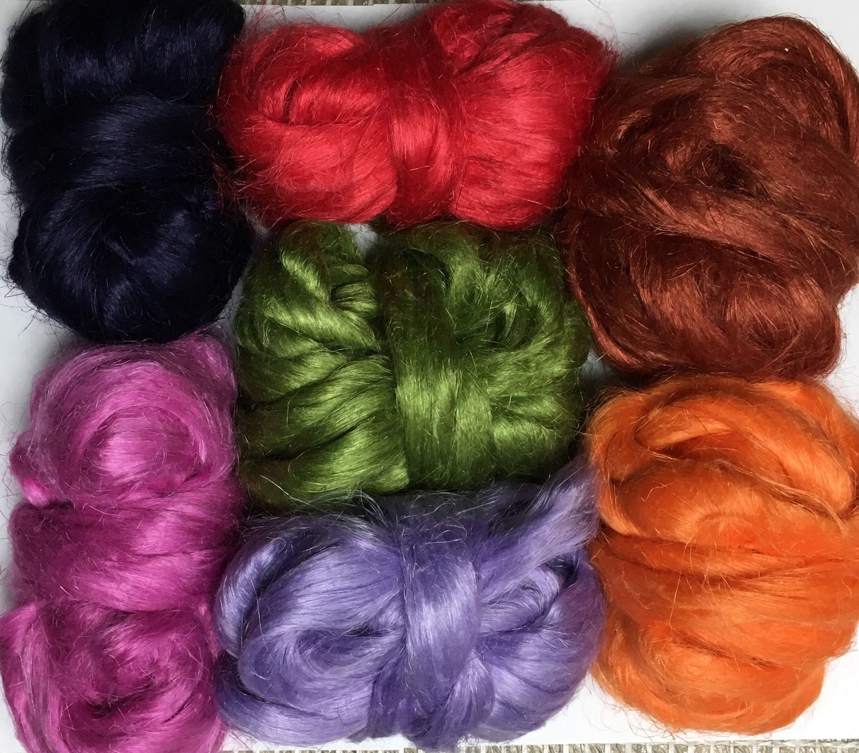 Flax fibers. 10 gr. Germany, Felting materials, Berdsk,  Фото №1