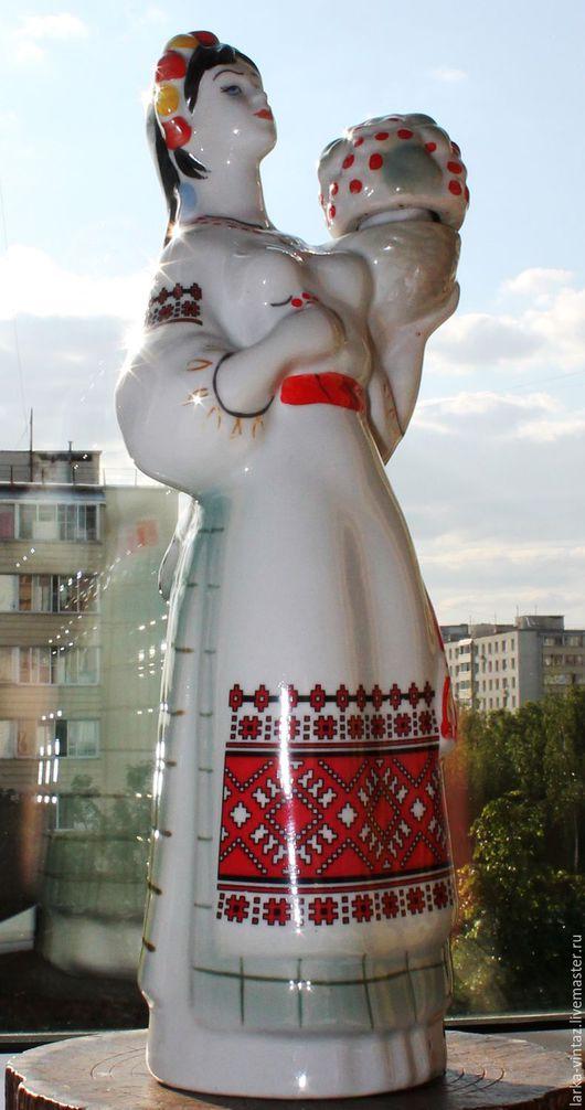 фарфоровая статуэтка, фарфор СССР, советский винтаж,