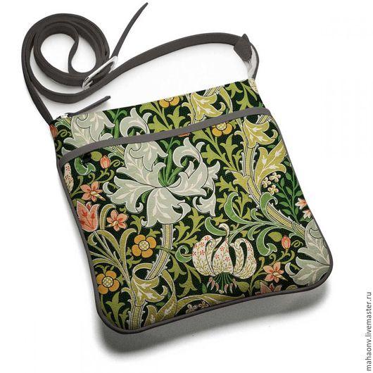 Женские сумки ручной работы. Ярмарка Мастеров - ручная работа. Купить Сумка планшет Уильям Моррис. Handmade. Разноцветный, сумка