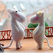 Куклы и игрушки ручной работы. Ярмарка Мастеров - ручная работа Муми тролль.. Handmade.