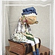 Ароматизированные куклы ручной работы. Ярмарка Мастеров - ручная работа. Купить Эльза - подружка Кристиана. Handmade. Интерьерная кукла, шерсть