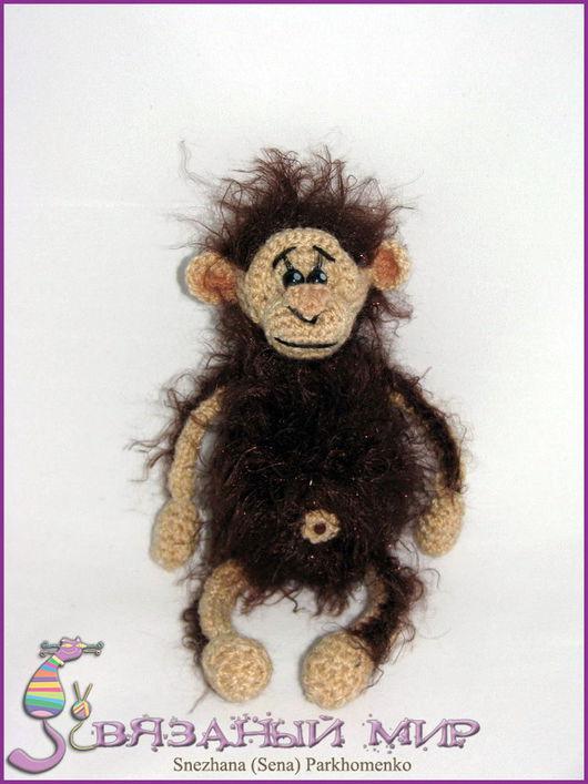 Игрушки животные, ручной работы. Ярмарка Мастеров - ручная работа. Купить Орангутан. Handmade. Вязаная игрушка, обезьяна, мартышка, орангутан