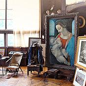 """Картины и панно handmade. Livemaster - original item Копия картины  Леонардо да Винчи """"Мадонна Литта"""". Handmade."""