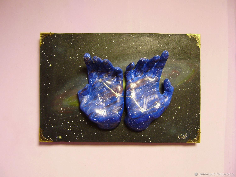 Картина фэтези Космос В моих Руках, Бесконечная Вселенная, Картины, Челябинск, Фото №1