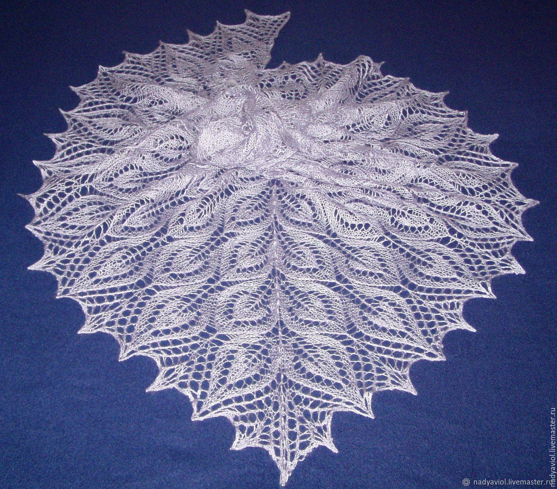 shawl'Silk leaves', Shawls, Severodvinsk,  Фото №1