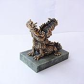 Сувениры и подарки handmade. Livemaster - original item Crocodile (pen stand). Handmade.