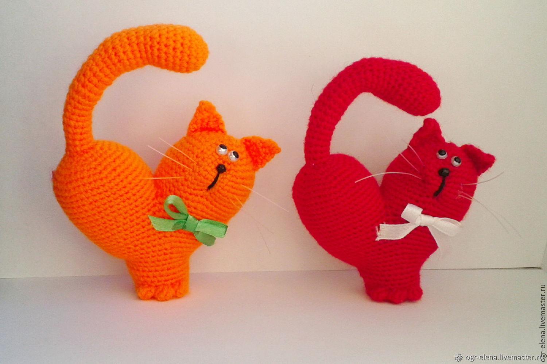Кот-сердце, Мягкие игрушки, Бийск,  Фото №1