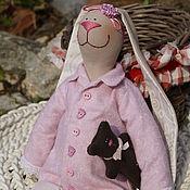 Куклы и игрушки ручной работы. Ярмарка Мастеров - ручная работа зайка Машенька. Handmade.