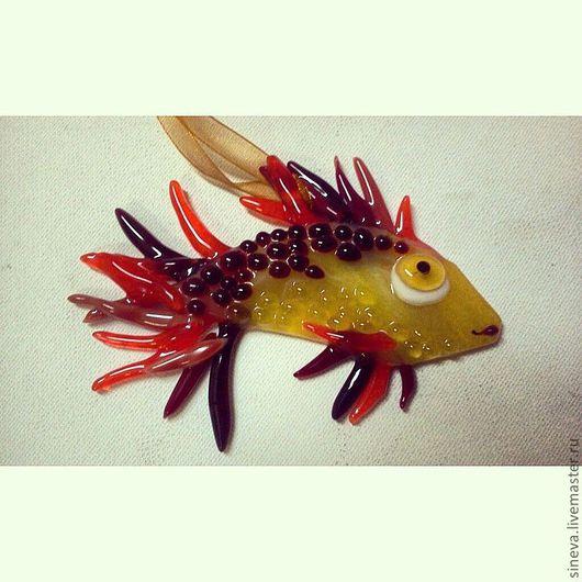 Элементы интерьера ручной работы. Ярмарка Мастеров - ручная работа. Купить Рыбка золотая. Handmade. Оранжевый, рыбка, золотая рыбка
