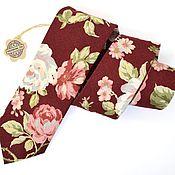 Аксессуары handmade. Livemaster - original item Tie Rozen. Handmade.
