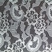 Материалы для творчества handmade. Livemaster - original item GUIPURE white, cut to 1,50 m. vintage fabric. soviet union.. Handmade.