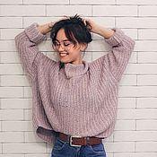 Одежда ручной работы. Ярмарка Мастеров - ручная работа Мягкий свитер. Handmade.