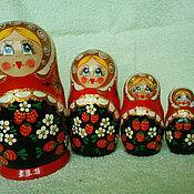 Русский стиль ручной работы. Ярмарка Мастеров - ручная работа Матрёшка. Handmade.