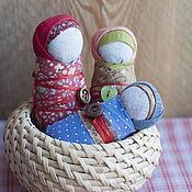 Куклы и игрушки ручной работы. Ярмарка Мастеров - ручная работа Кукла народная пеленашка Деточка. Handmade.