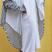 Одежда ручной работы. Ярмарка Мастеров - ручная работа Рубашка Double Layered. Handmade.
