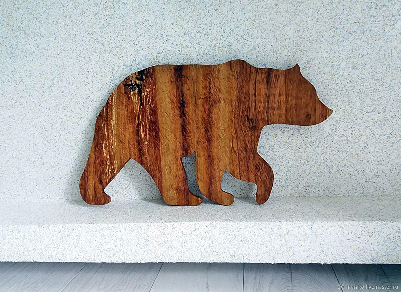 Медведь из старой яблони, Панно, Ярославль,  Фото №1