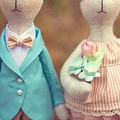 Куклы Тильда ручной работы. Ярмарка Мастеров - ручная работа Mr and Mrs. Handmade.