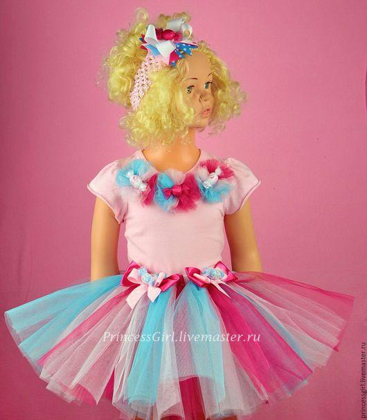 Детские карнавальные костюмы ручной работы. Ярмарка Мастеров - ручная работа. Купить Костюм конфетки. Handmade. Комбинированный, картина