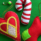Подарки к праздникам ручной работы. Ярмарка Мастеров - ручная работа Праздничная канитель. Handmade.