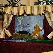 """Куклы и игрушки ручной работы. Ярмарка Мастеров - ручная работа Кукольный театр. Настольная ширма """"РЕНЕССАНС"""". Handmade."""