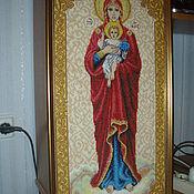 Картины и панно ручной работы. Ярмарка Мастеров - ручная работа валаамская икона божьей матери. Handmade.