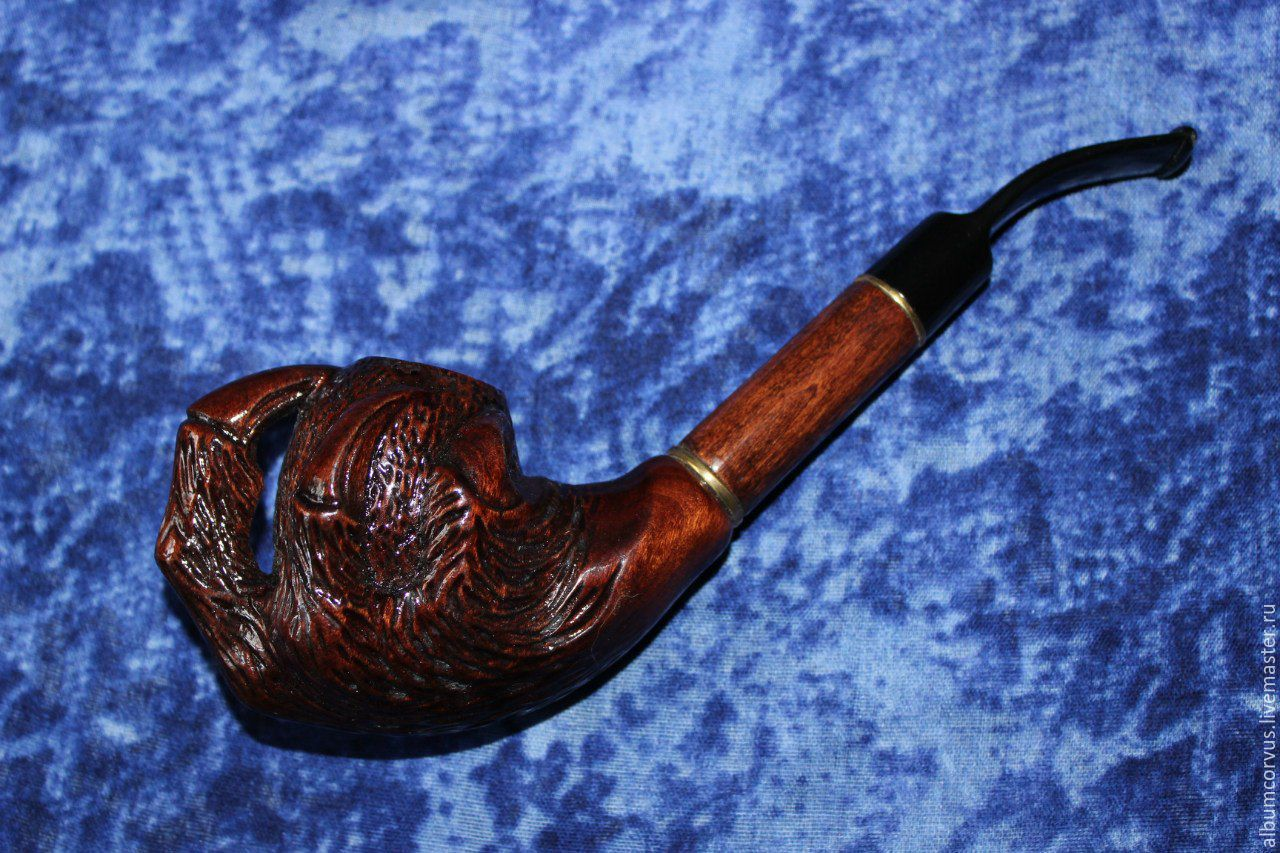 Трубка курительная ручной работы