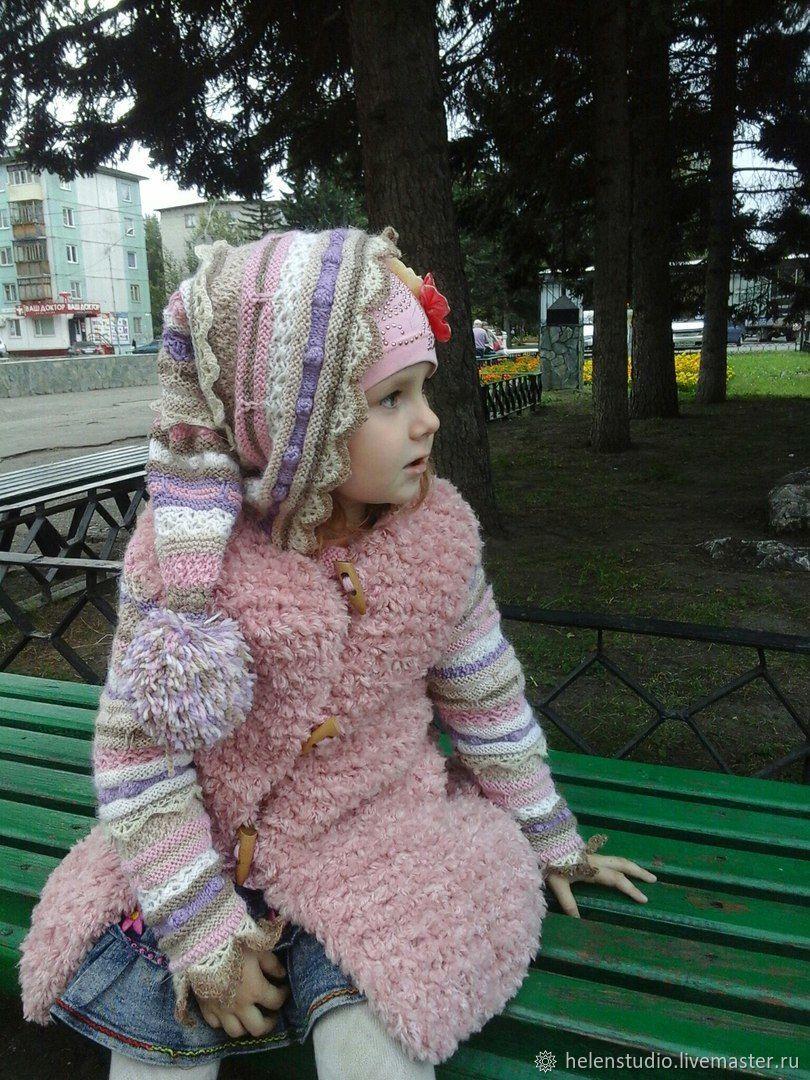 """Пальто для девочки """" ПУШИСТИК"""""""