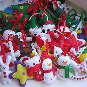 Подарки к праздникам ручной работы. Ярмарка Мастеров - ручная работа Ёлочные украшения, разные. Handmade.