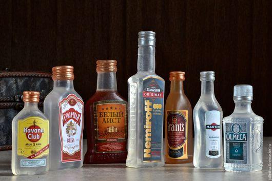 """Мыло ручной работы. Ярмарка Мастеров - ручная работа. Купить Набор мыльных бутылок """"Бар"""". Handmade. Бутылка, мартини, ром"""