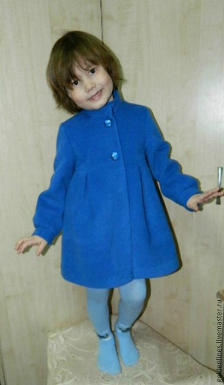 Пальто для девочки из драпа сшить