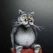 """Мини фигурки и статуэтки ручной работы. Ярмарка Мастеров - ручная работа Волк из мультика """"Жил был пёс"""". Handmade."""