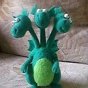 Куклы и игрушки ручной работы. Ярмарка Мастеров - ручная работа Змей Гаврилыч. Handmade.
