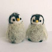 Куклы и игрушки ручной работы. Ярмарка Мастеров - ручная работа Пухлые пингвинята. Handmade.