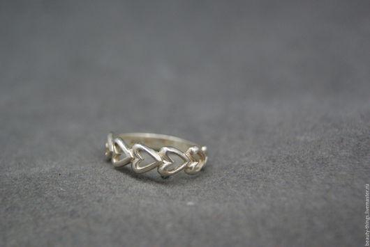 Винтажные украшения. Ярмарка Мастеров - ручная работа. Купить Изящное кольцо серебро. Handmade. Винтаж, серебряный