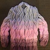 Одежда ручной работы. Ярмарка Мастеров - ручная работа Кардиган женский. Handmade.