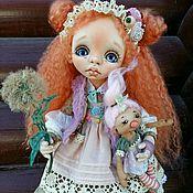 Dolls handmade. Livemaster - original item Interior textile doll. Zlata. Handmade.