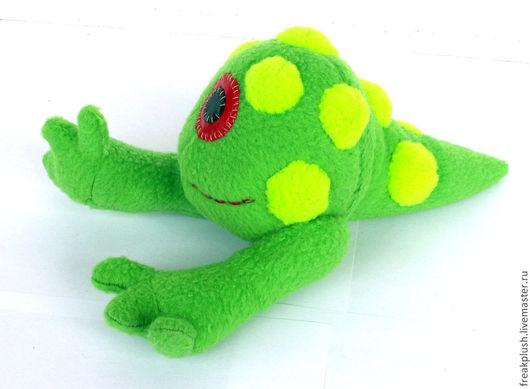 Игрушки животные, ручной работы. Ярмарка Мастеров - ручная работа. Купить Токсичная жаба. Handmade. Салатовый, милый, авторская игрушка
