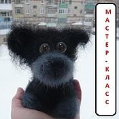"Материалы для творчества ручной работы. Ярмарка Мастеров - ручная работа Мастер-класс ""Маааааленький щеночек"". Handmade."