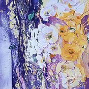 Картины и панно ручной работы. Ярмарка Мастеров - ручная работа Картина Маковый блюз. Handmade.