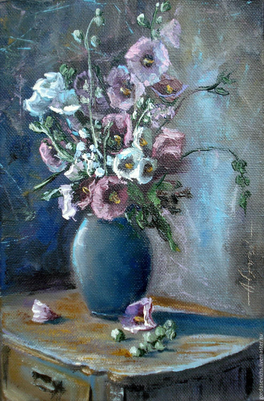 Картины с цветком мальвы