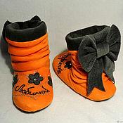 Обувь ручной работы handmade. Livemaster - original item Slippers-boots for loved ones. Handmade.
