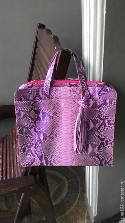 Женские сумки ручной работы. Ярмарка Мастеров - ручная работа. Купить сумка для ноутбука. Handmade. Розовый, сумка для ноутбука
