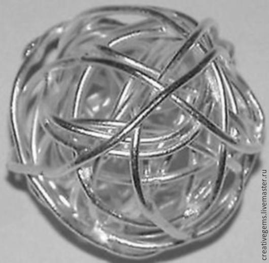 Артикул 04011 Бусины из серебра 925 пробы. Цена указана за артикул 04011