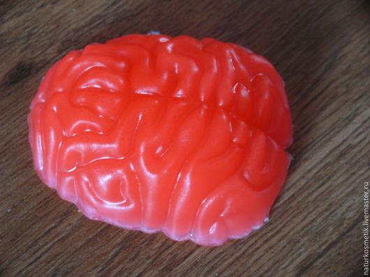 Мыло ручной работы. Ярмарка Мастеров - ручная работа. Купить Мозг. Handmade. Лимонный, мозг, ши масло, фруктовые пудры