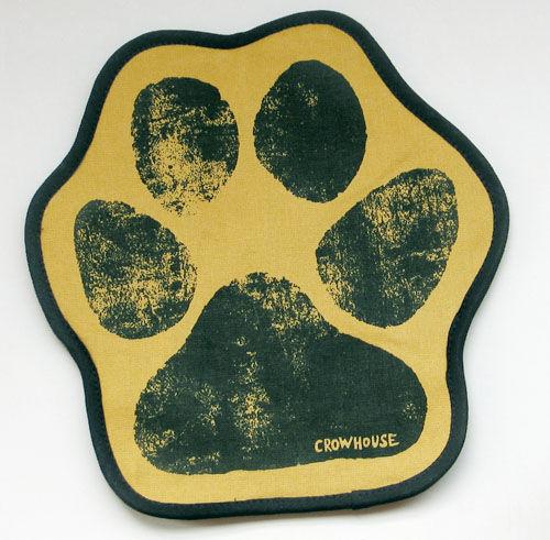 Kitchen handmade. Livemaster - handmade. Buy Potholder mitten 'paw' yellow.Potholder, useful gift, animals, March 8, 2013
