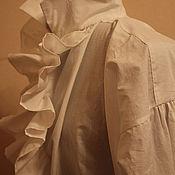 Одежда ручной работы. Ярмарка Мастеров - ручная работа Мужская сорочка хлопковая 19 век. Handmade.